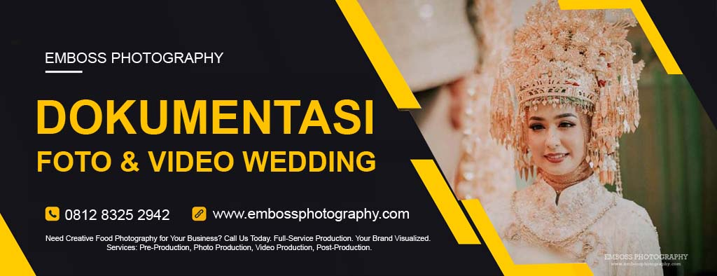 JASA FOTO & VIDEO WEDDING